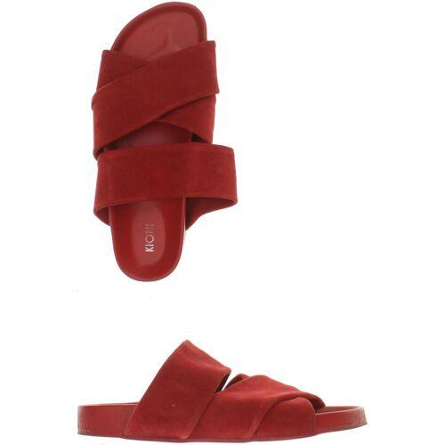 Kiomi Damen Sandale DE 40 rot