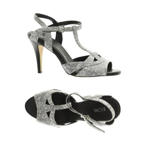 Kiomi Damen Sandale grau Leder DE 38