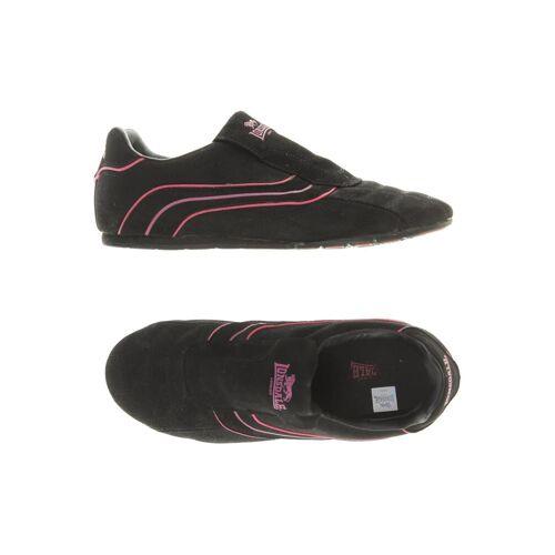 LONSDALE LONDON Damen Sneakers schwarz Leder DE 37