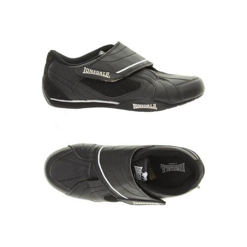 LONSDALE LONDON Damen Sneakers schwarz Kunstleder DE 36