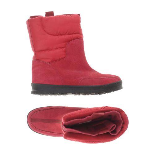 Lands´End Damen Stiefel rot Kunstleder Leder DE 40