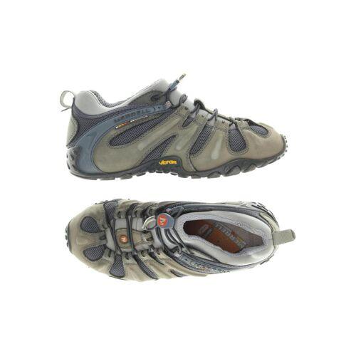 MERRELL Damen Sneakers grau Leder DE 40