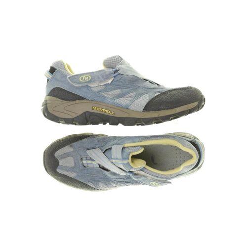 MERRELL Damen Sneakers blau Leder DE 37