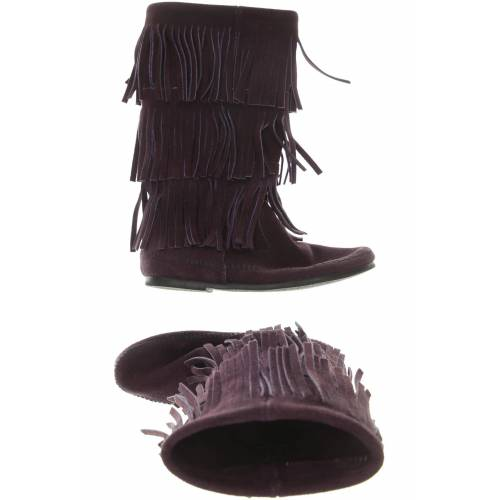 Minnetonka Damen Stiefel lila kein Etikett UK 6