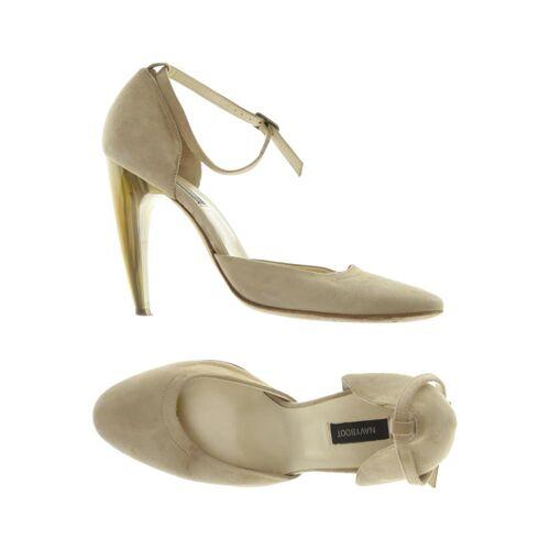 NAVYBOOT Damen Pumps beige Leder DE 38