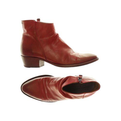 PANTANETTI Damen Stiefelette rot kein Etikett DE 37
