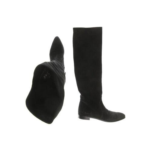 Prada Damen Stiefel schwarz kein Etikett DE 35