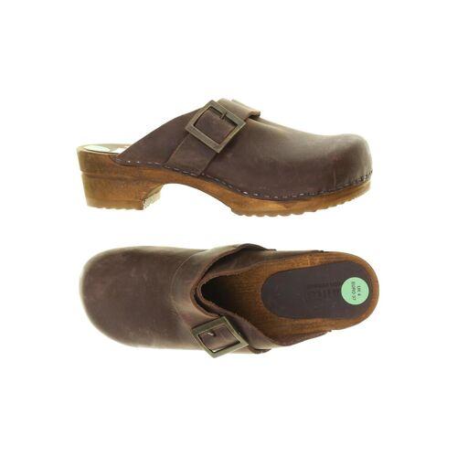 Sanita Damen Sandale braun kein Etikett DE 37