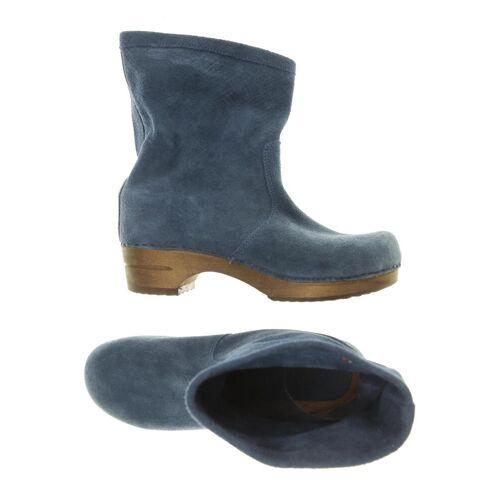 Sanita Damen Stiefel blau kein Etikett DE 42