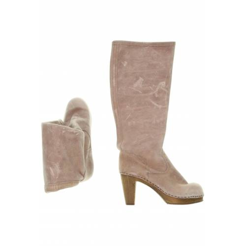 Sanita Damen Stiefel pink Leder DE 37