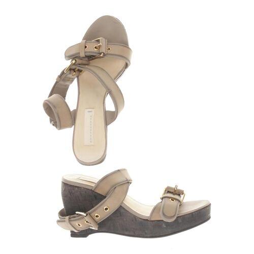 Schumacher Damen Sandale beige Leder DE 36