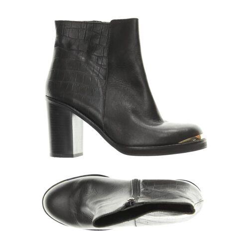 Topshop Damen Stiefelette schwarz Leder DE 40