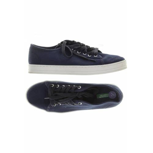 United COLORS OF BENETTON Damen Sneakers blau kein Etikett DE 40