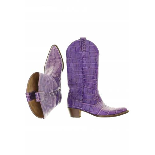 Unützer Damen Stiefel lila kein Etikett DE 38