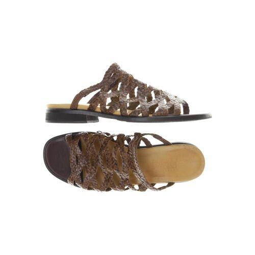 Vabeene Damen Sandale braun kein Etikett DE 40