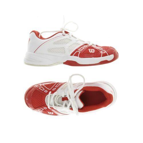 Wilson Damen Sneakers rot kein Etikett DE 36.5