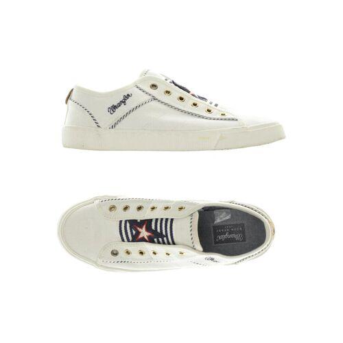 Wrangler Damen Sneakers weiß kein Etikett DE 38
