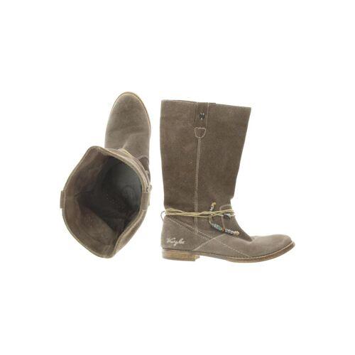 Wrangler Damen Stiefel grau kein Etikett DE 40