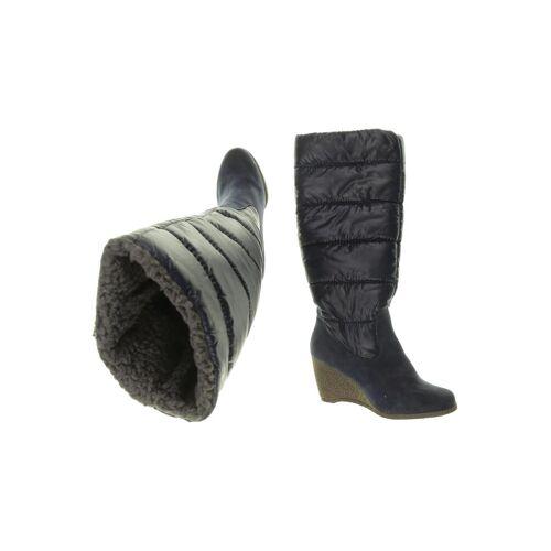 Zalando Essentials Damen Stiefel blau kein Etikett DE 42