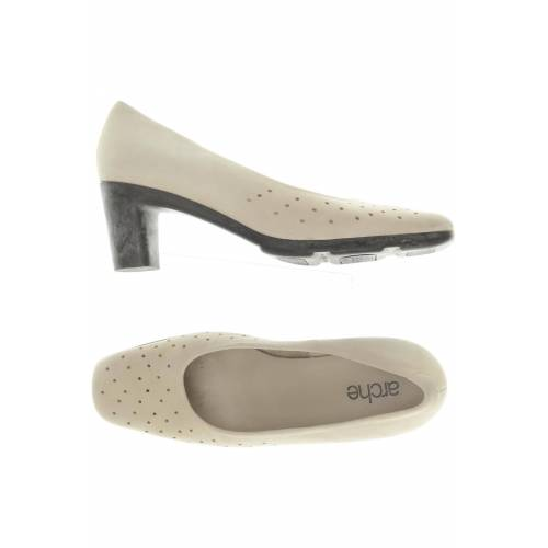 arche Damen Pumps beige Leder UK 4.5