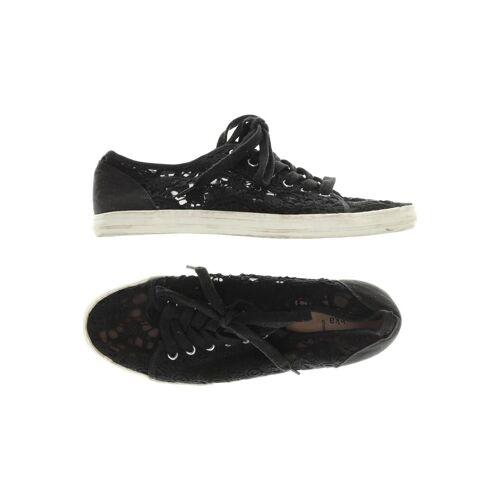 bershka Damen Sneakers schwarz kein Etikett DE 39