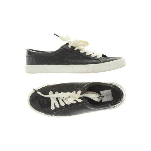 bershka Damen Sneakers schwarz kein Etikett DE 38