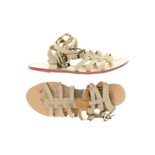 coolway Damen Sandale beige Leder DE 41