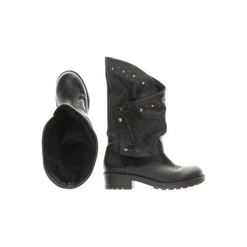 coolway Damen Stiefel schwarz Leder DE 40