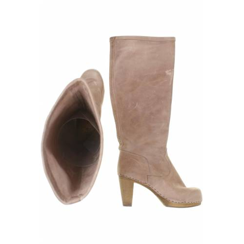 Sanita Damen Stiefel beige Leder DE 38