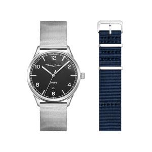 Thomas Sabo SET CODE TS schwarze Uhr & dunkelblaues Armband anthrazit SET0582-201-1-40 MM