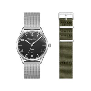 Thomas Sabo SET CODE TS schwarze Uhr & khaki Armband braun-glänzend SET0581-201-6-40 MM