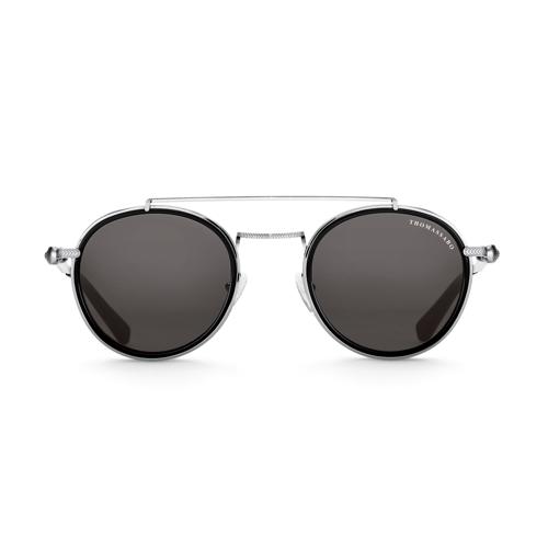 Thomas Sabo Sonnenbrille Panto Johnny Totenkopf schwarz E0005-044-106-A