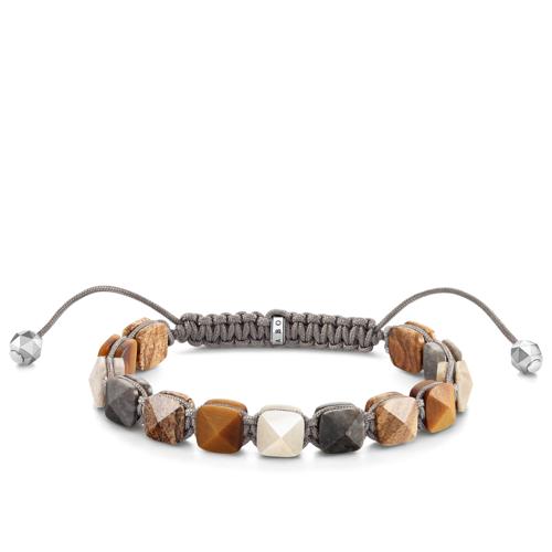 Thomas Sabo Armband braune Nieten braun A1769-483-2-L26V
