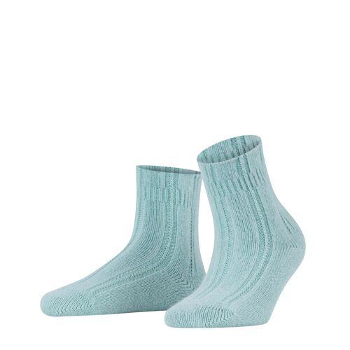 FALKE Bettsocken Damen Socken, 39-42, Grün, 47470-779202