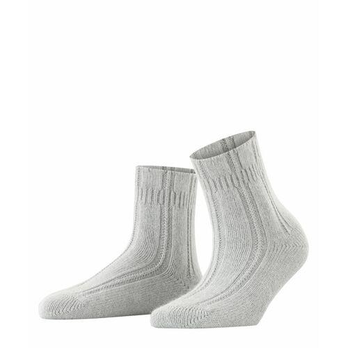 FALKE Bettsocken Damen Socken, 35-38, Grau, 47470-329001