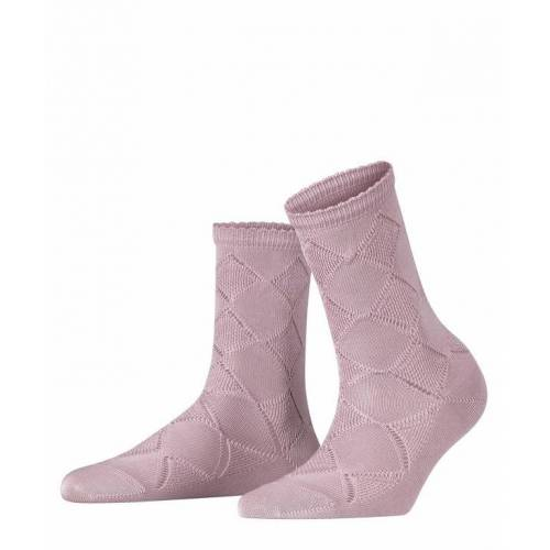 FALKE Argyle Corrosion Damen Socken, 39-42, Lila, Argyle, 46407-695502