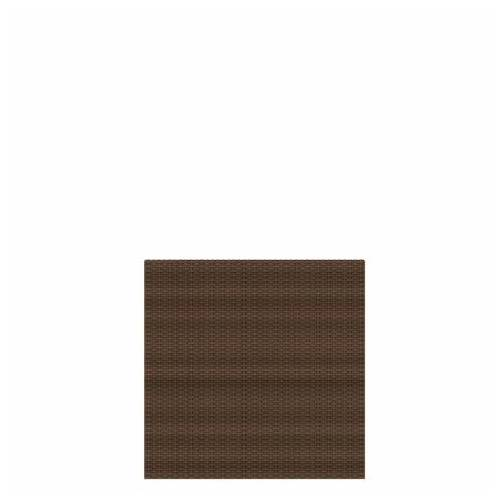 Traumgarten Sichtschutzzaun Weave mocca 2012 88x88cm;