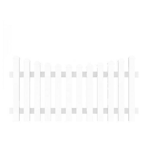 Groja Vorgartenzaun-Element Bogen unten 180 x 90-78cm;