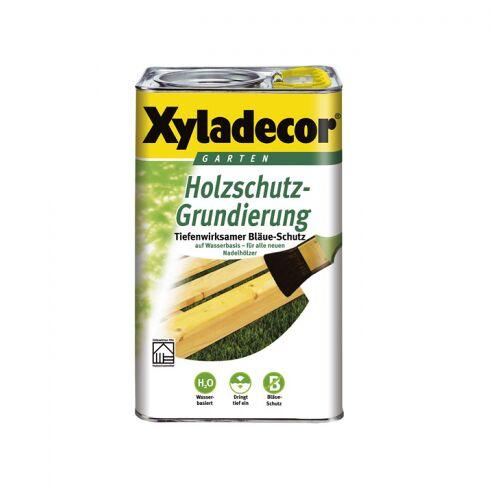 Akzo Nobel Xyladecor Holzschutz-Grundierung 2,5 l auf Wasserbasis; 10,54 EUR/L;