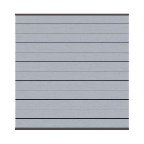 Traumgarten System WPC Zaunfeld-Set grau 2576  178x184cm;