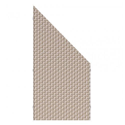 Traumgarten Sichtschutzzaun Weave gray 4413 88x178-88cm;