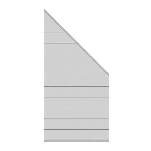 Traumgarten System Alu Zaunfeld-Set silber 2830 184-94x89cm;