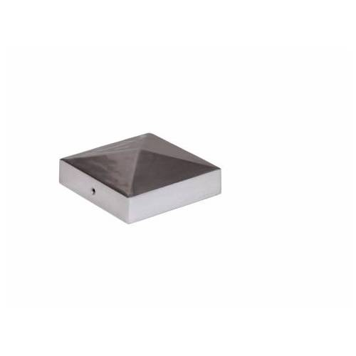 Mesem Pfostenkappe Pyramidenform Aluminium 90x90mm;