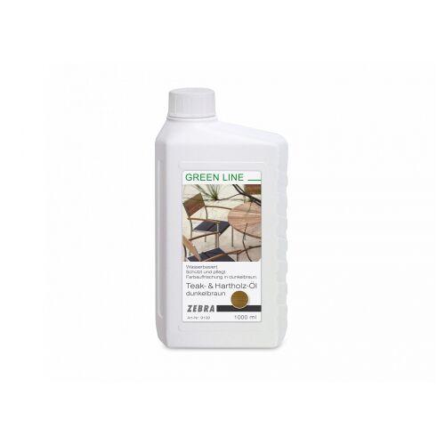 Zebra Teak Öl 1L - Hellbraun;