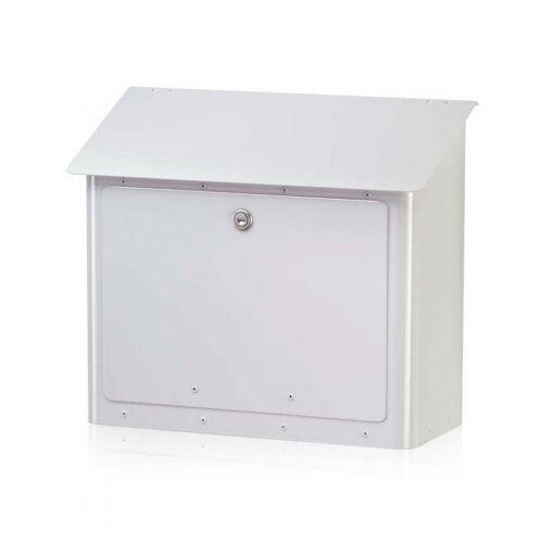 Heibi Postkasten Gran-Securo 5 weiß;