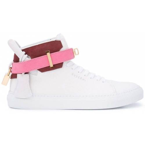 Buscemi High-Top-Sneakers mit Schnalle