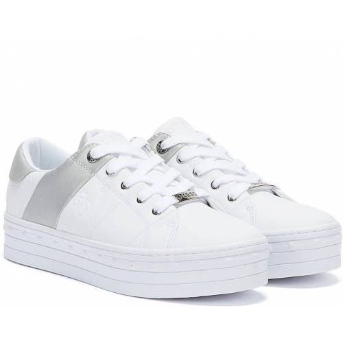 Guess Bustin Weisse Sneakers