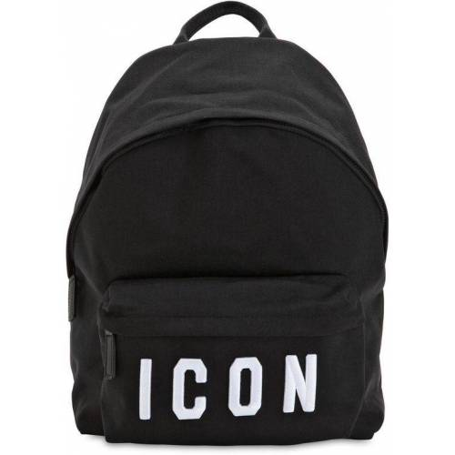 DSquared² Rucksack Aus Nyloncanvas Mit Icon-patches