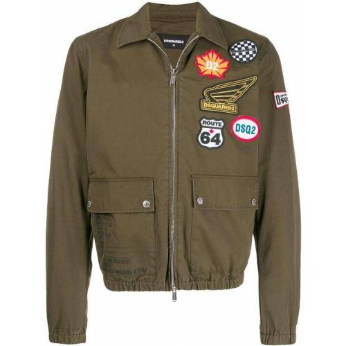 DSquared² Bomberjacke mit Patches