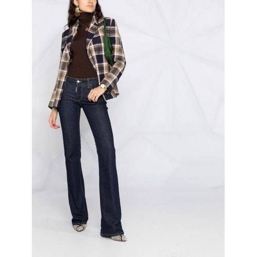 DSquared² Halbhohe Bootcut-Jeans